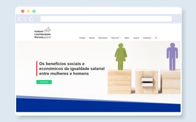 Lançamento do site do projeto